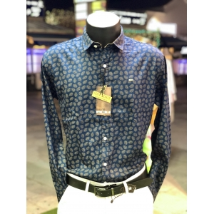 Lost Caves Feather Print Shirt