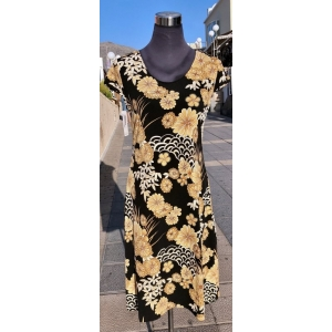 Golden Flowers Dress