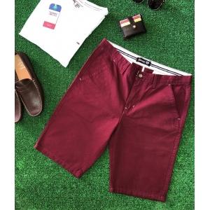 Espana Plain Chino Cotton Shorts