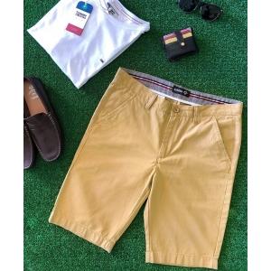 Espana Cotton Plain Chino Shorts