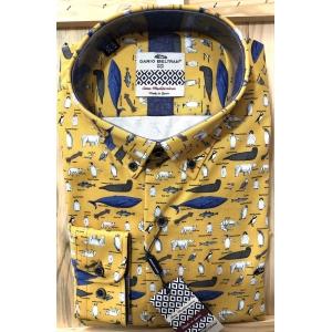 Camisa Dario Beltran Hebe con criaturas del mar