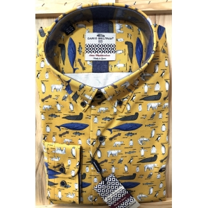 Dario Beltran Hebe Shirt with marine creatures
