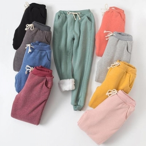 Pantalones de chándal de algodón 100% cómodos