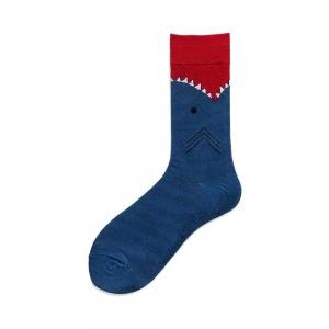 Shark Devour Print Sock