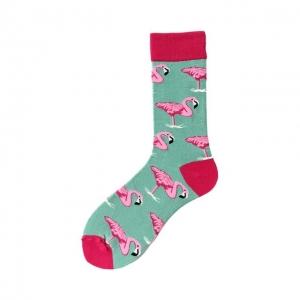 Flamingos Red Sock