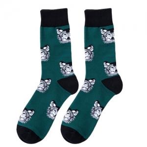 Border Collie Dog Print Socks
