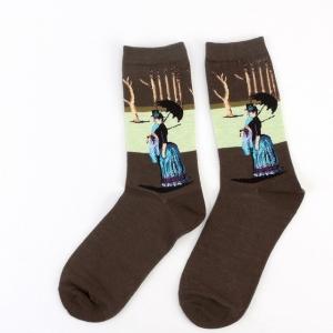 Sunday Afternoon On The Island Of La Grande Jatte Printed Socks