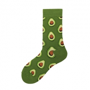 Avocado Printed Socks