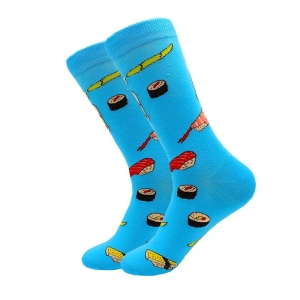 Japanese Foods Printed Socks