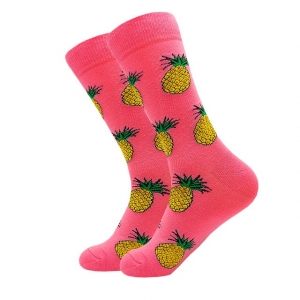 Pineapples all over Printed Socks