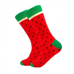 Strawberry Entire Printed Socks