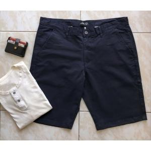 Espana Navy Blue Chino Stretch Shorts
