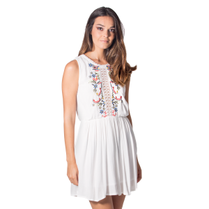 White Vilamoura Short Dress