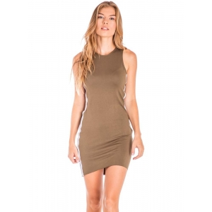 Khaki Amber Short Dress