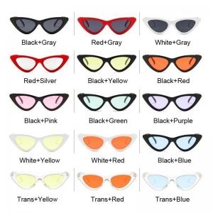 Gafas de sol retro ojo de gato UV 400