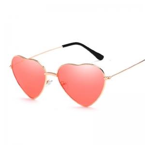 Heart Shaped UV400 Retro Sunglasses