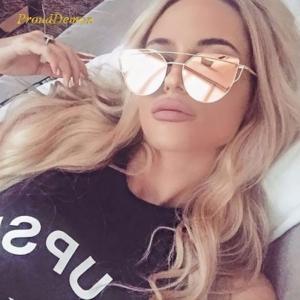 Gafas de sol Ojos de Gato Retro Espejo UV400