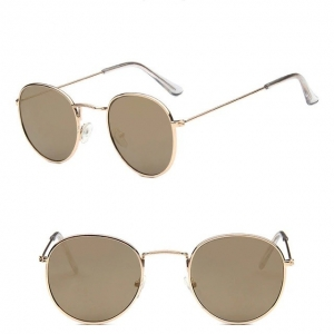 Metal Round Retro Vintage Sunglasses