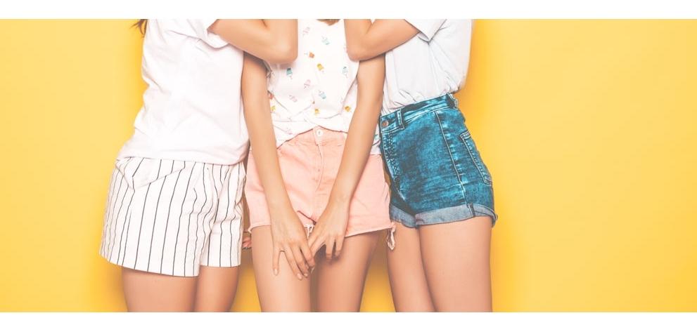 Pantalones cortos | Shorts para mujer | Aloha Canary