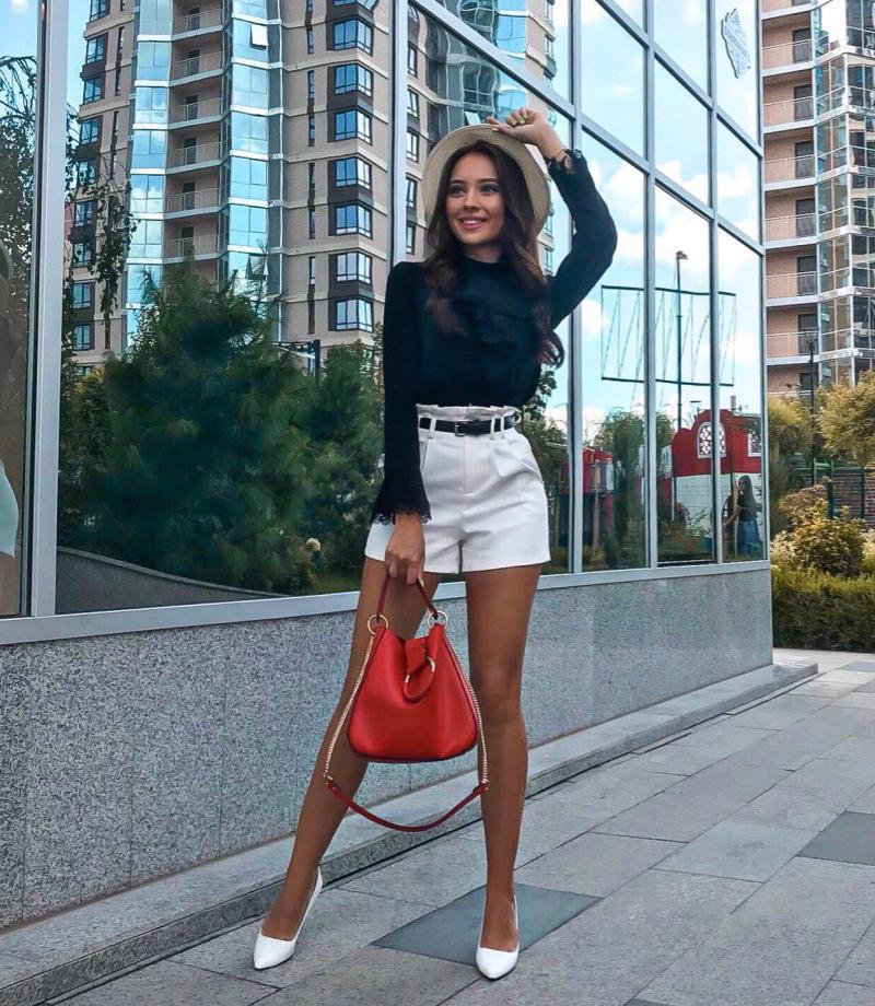 Girls with Korean Shorts
