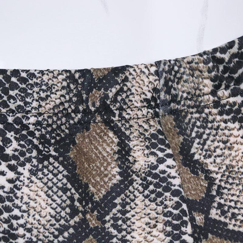 Pantalón Serpiente Textura