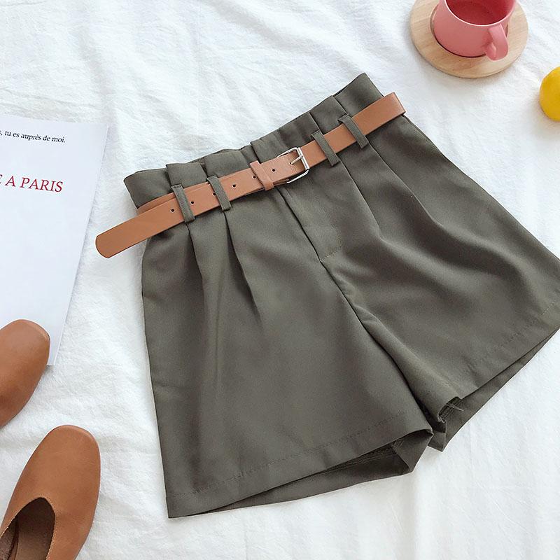 Green Korean Shorts