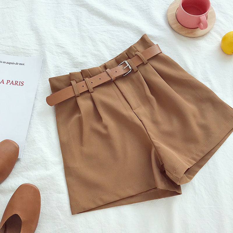 Brown Korean Shorts
