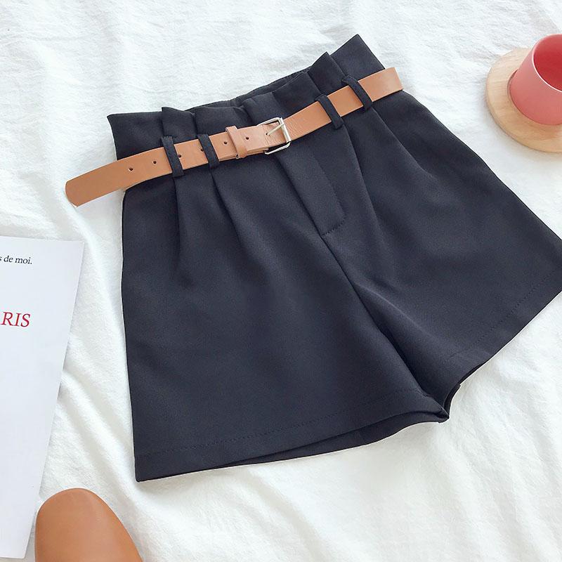 Black Korean Shorts