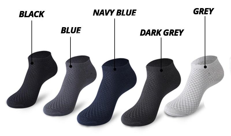 Low Cut Bamboo Socks Colors
