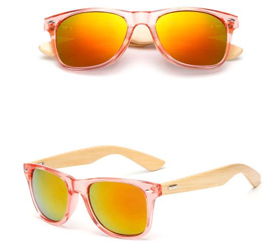 Red Bamboo UV400 Sunglasses
