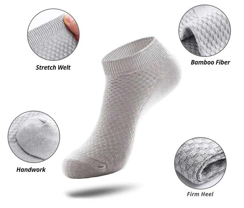 bamboo socks specs
