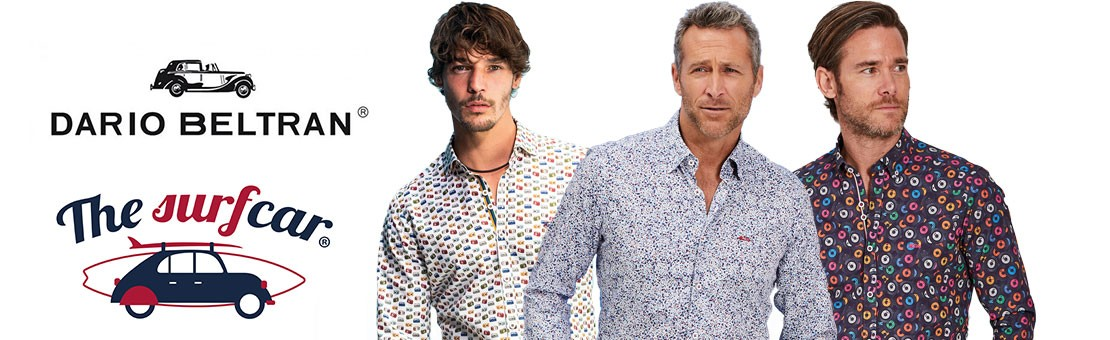 Camisas Dario Beltran y The Surfcar